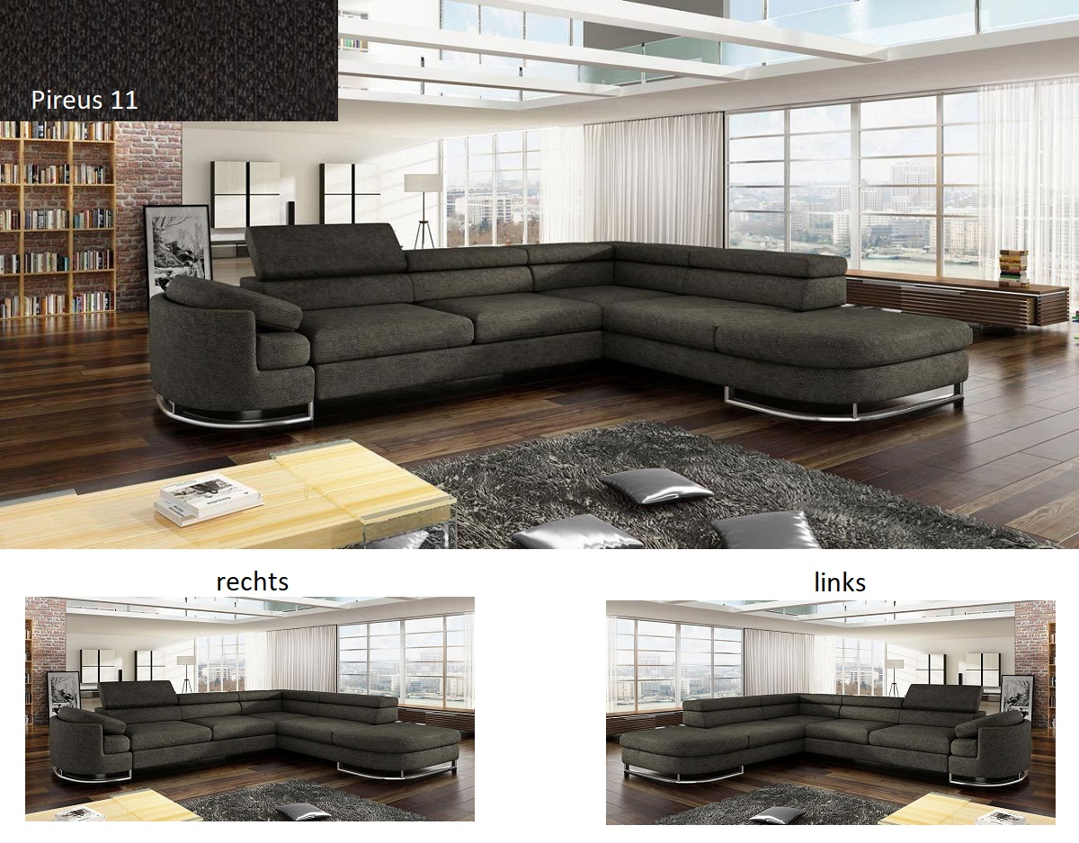 Ecksofa Mit Schlaffunktion Koko Bettkasten Schwarz Beige Rot Grau Couch Sofa Neu Ebay